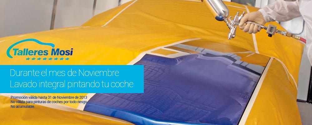 Promoción pinte su coche